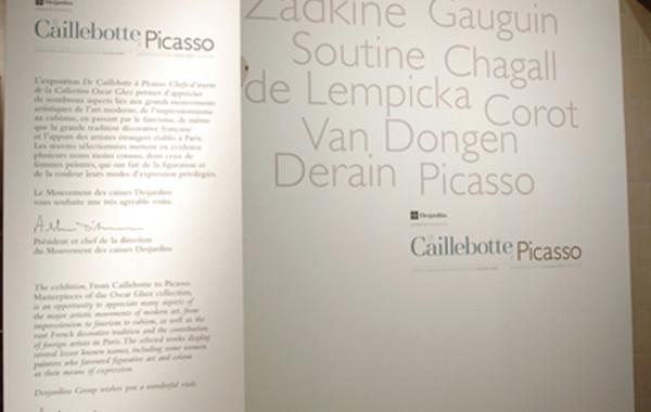 De Caillebotte à Picasso. Chefs-d'œuvre de la collection Oscar Ghez