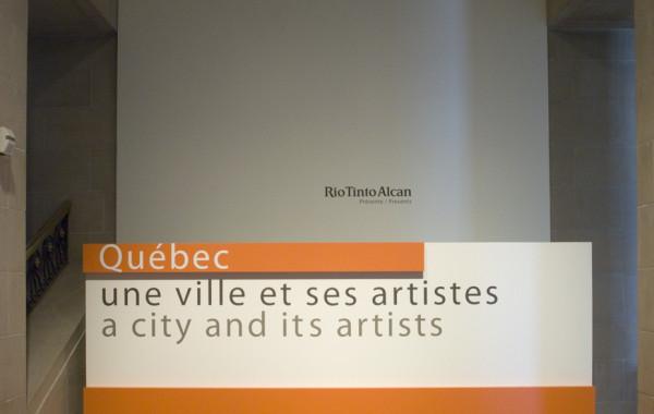 Québec, une ville et ses artistes