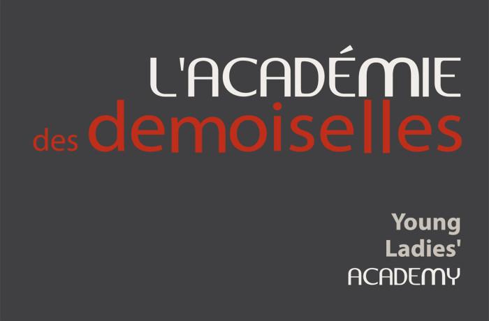 Signature graphique : L'Académie des demoiselles