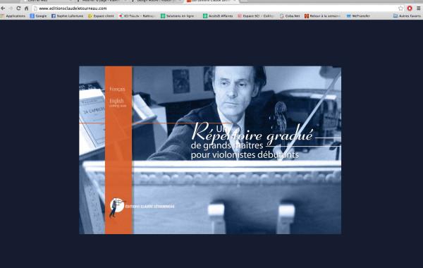 Site web transactionnel : Les Éditions Claude Létourneau