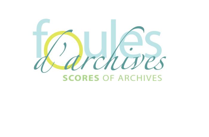 Signature graphique : Foules d'archives