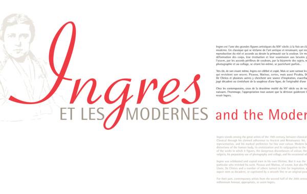 Signature graphique : Ingres et les Modernes