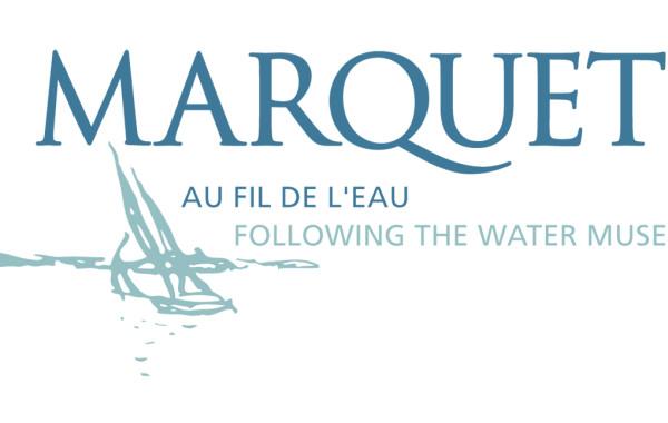 Signature graphique : Marquet au fil de l'eau