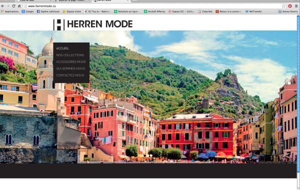 Site web : Herren Mode