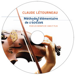 PAP CD Méthode Violon
