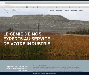 Site web : Lamont expert-conseil